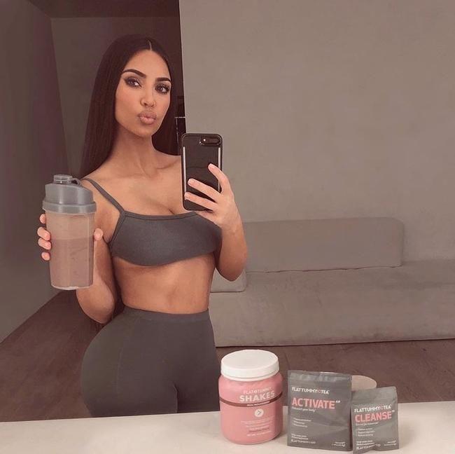 Berømtheder, herunder Kim Kardashian i brand for at promovere 'usikre' kostprodukter på Instagram