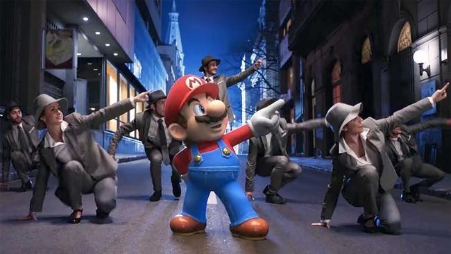 Super Mario har blitt laget i en Broadway -musikal, og det er Bonkers