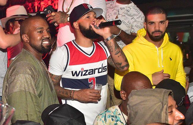 Drake og Kanye West Reignite Feud på Instagram