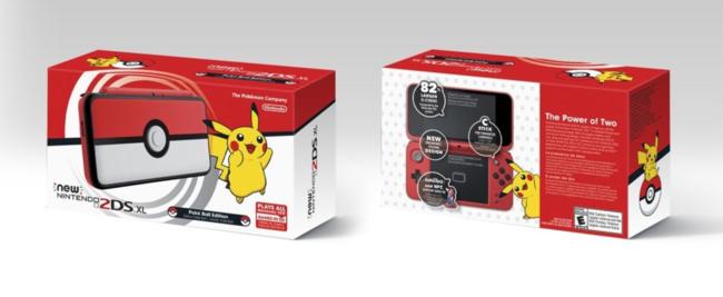 La nouvelle Nintendo 2DS XL sur le thème de Pokemon dévoilée et c'est la meilleure à ce jour
