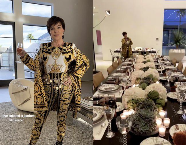À l'intérieur du somptueux Thanksgiving des Kardashian