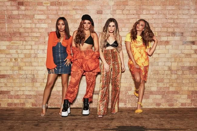 Little Mix slipper en splitter ny singel med Latin American Boyband CNCO i morgen