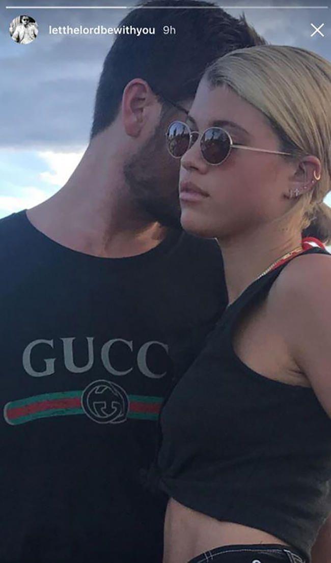 Scott Disick və Sofia Richie Münasibətlərini Təsdiq etdikdən Sonra İnstagram Rəsmiləridir