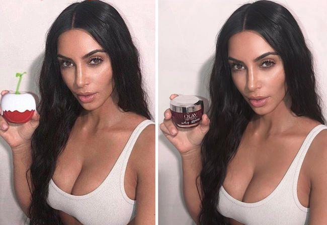 Обожаваоци хватају Ким Кардасхиан користећи епске пропорције Пхотосхопа на сликама парфема Кимоји