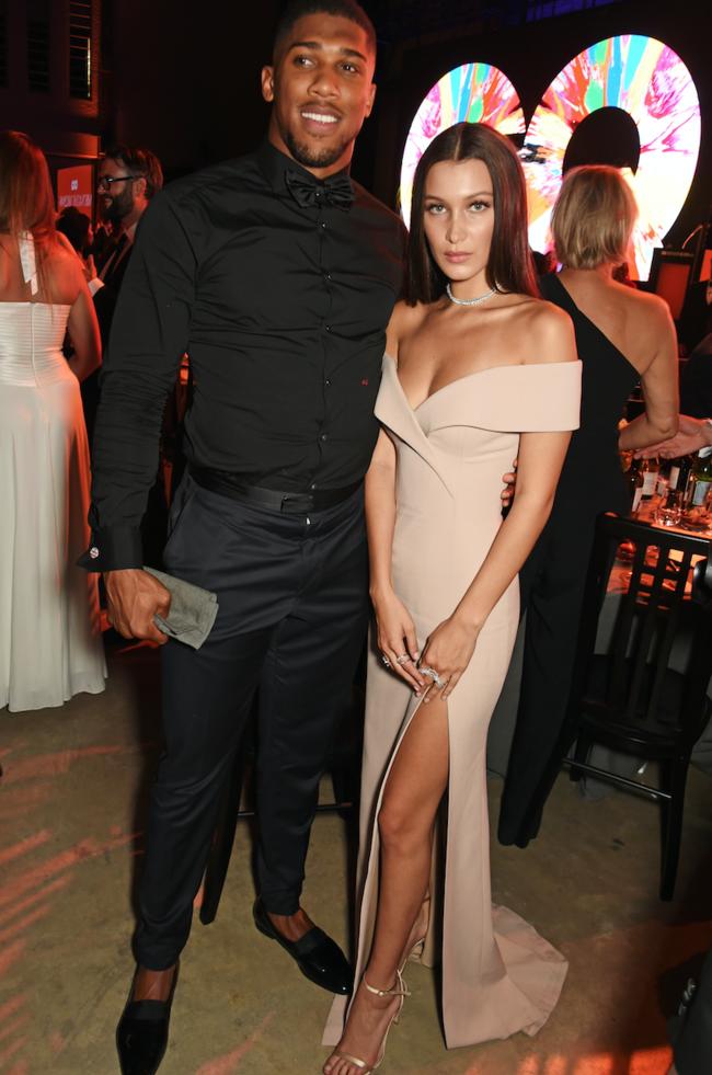 On dirait que la rumeur d'une romance entre Bella Hadid et Anthony Joshua se réchauffe