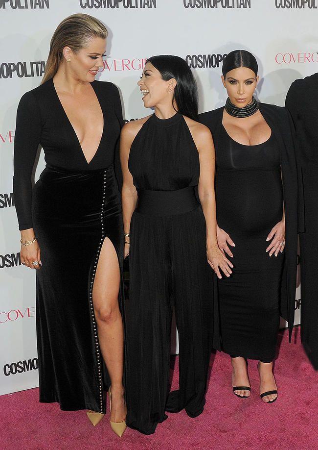 Khloe Kardashian avslører usikkerheten hennes om å bli sammenlignet med søstrene Kim og Kourtney