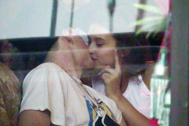 Brooklyn Beckham Spotted Kissing Model Lexi Wood Etter Chloe Moretz Split