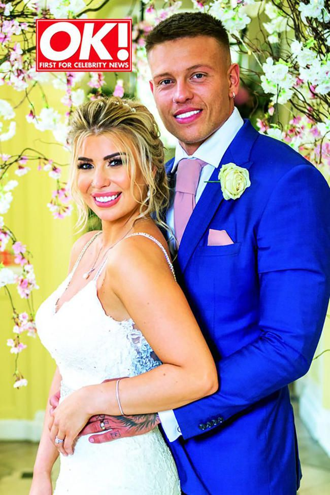 Olivia Bucklands bryllup: Alle detaljerne i hendes smukke brudekjole