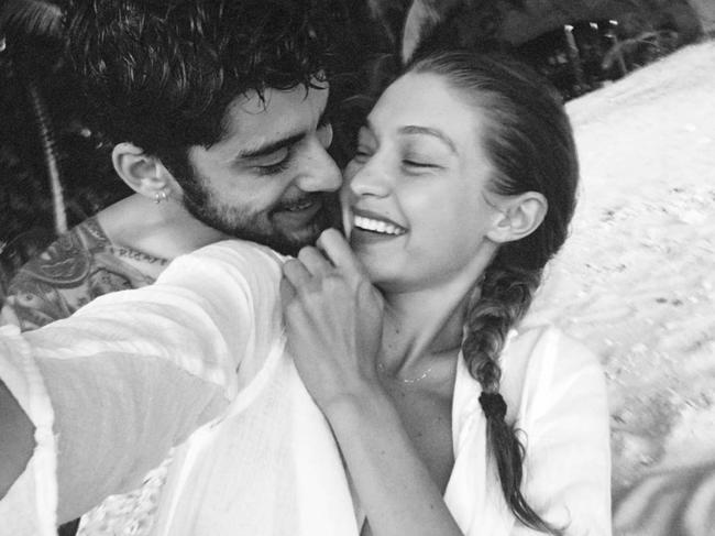 Hvordan isolasjon etter sigende endrer Gigi Hadid og Zayn Maliks romantikk