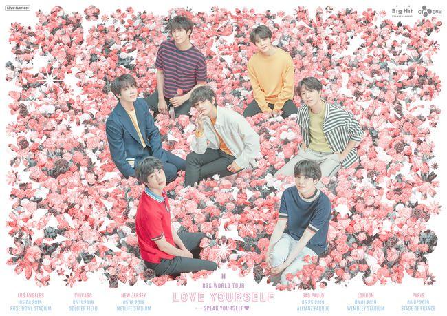 BTS kommer til å spille Wembley Stadium på sin 'LOVE DEG SELF: SPEAK YOUself' World Tour