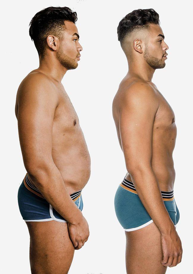 Nathan Henry debuterer utrolig kroppstransformasjon etter å ha mistet 32 pund