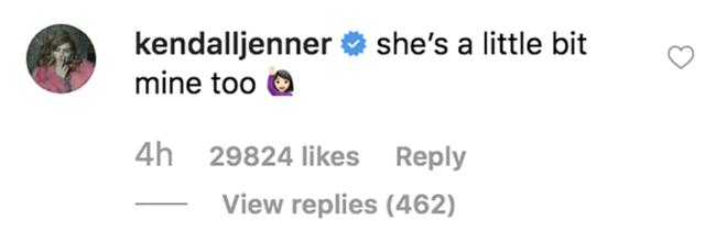 Η Kendall Jenner διαφωνεί με το χαριτωμένο μήνυμα του Justin Bieber για τη Hailey Baldwin
