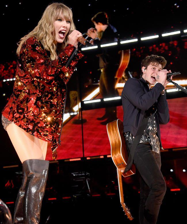 Shawn Mendes avslører teksten han fikk fra Taylor Swift som fikk ham til å føle seg syk