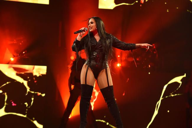 Demi Lovato byrjar á Tell Me You Love Me Tour með Epic Setlist