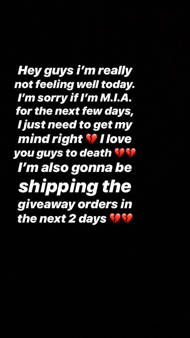 Lil Xans forlovede Annie Smith avslører at hun har hatt et spontanabort