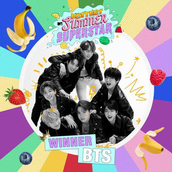 BTS Gewinnt MTVs heißesten Sommer-Superstar 2020!