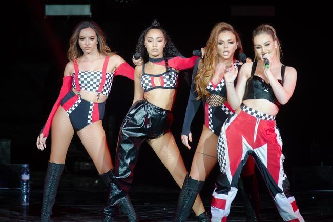 Little Mix jobber med sitt femte album med RAYE