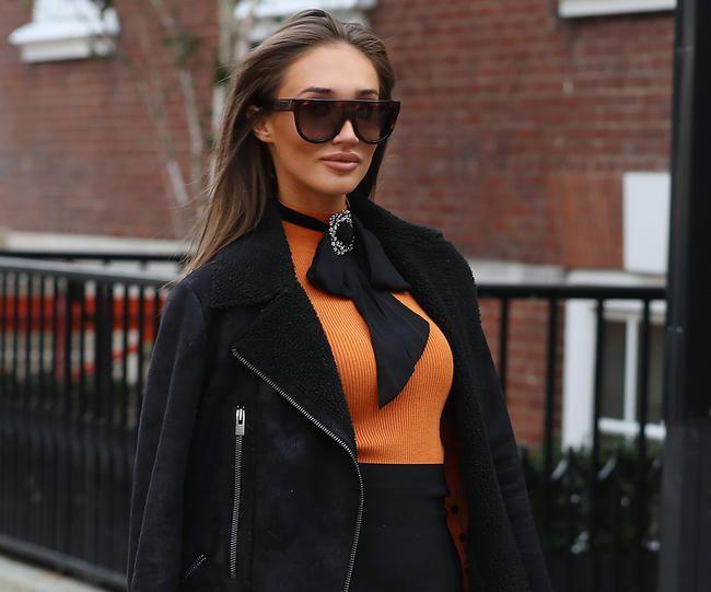 Megan McKennas eks Harry Eden så at hun forlot huset sitt med en koffert
