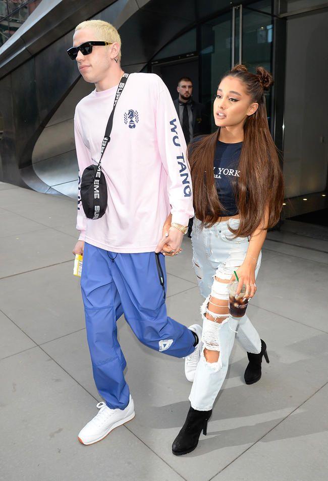 Ariana Grande und Pete Davidson sind erleichtert, dass sie sich getrennt haben