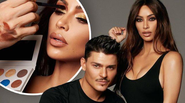 Fans regner med Kim Kardashian og Mario Dedivanovics nye øyenskygge -palett er en Kylie Jenner Rip Off