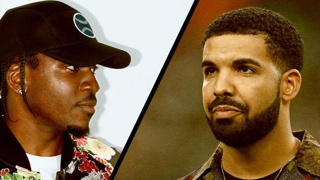 Drake VS Pusha T: Sagan svo langt ...