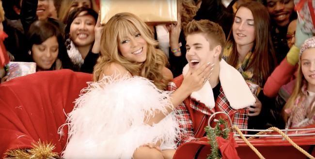 Ariana Grande ir Mariah Carey Kalėdų sosto įpėdiniai