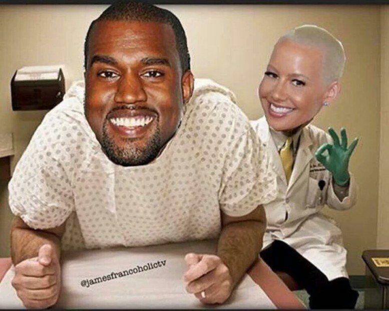 Alle Augen auf Meme: Amber Rose beschämt Kanye West und Neil Degrasse Tyson Schools B.O.B.