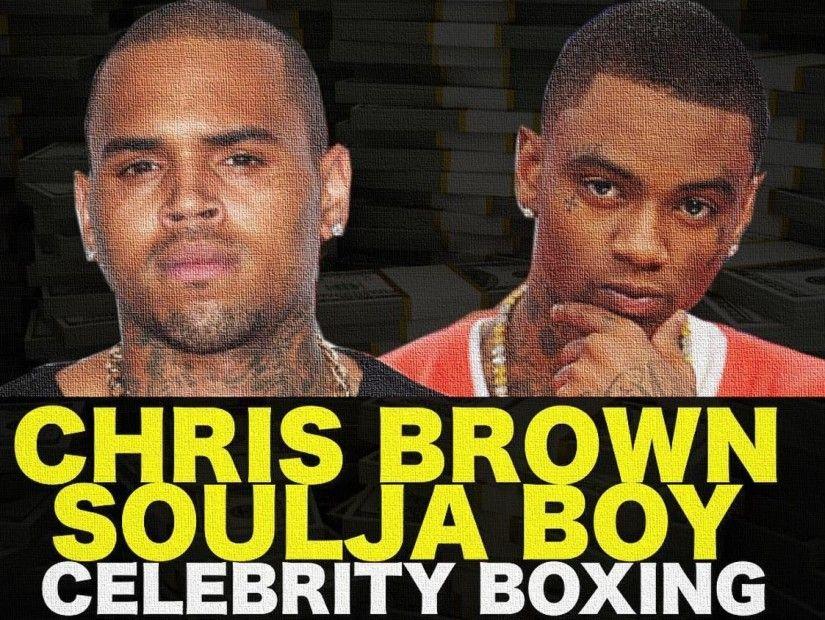 6 İşarə Chris Brown Vs. Soulja Boy Döyüşü Baş Vermir