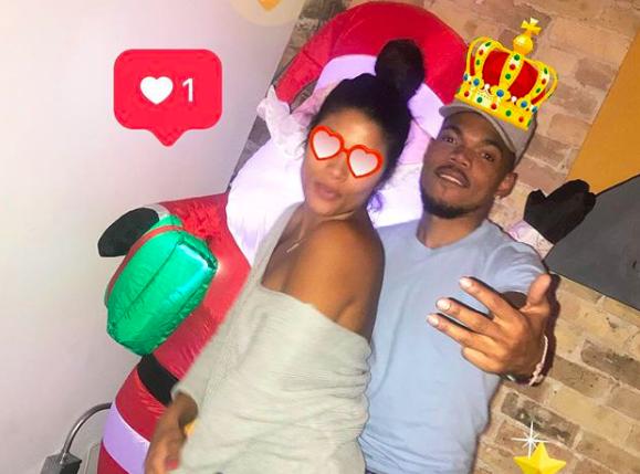 Tweets schauen zu: Chance The Rapper DMs Ein Fan von seinem Verlobungsvideo
