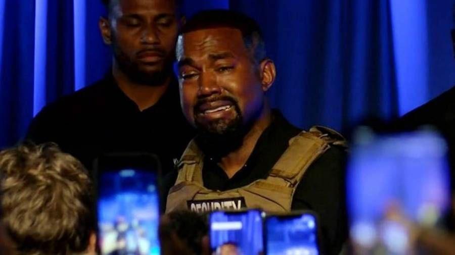 Le seul qui peut aider Kanye est Kanye