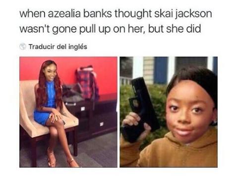 All Eyez On Memes: Azealia Banks wird von einem 14-jährigen Disney-Star zerstört