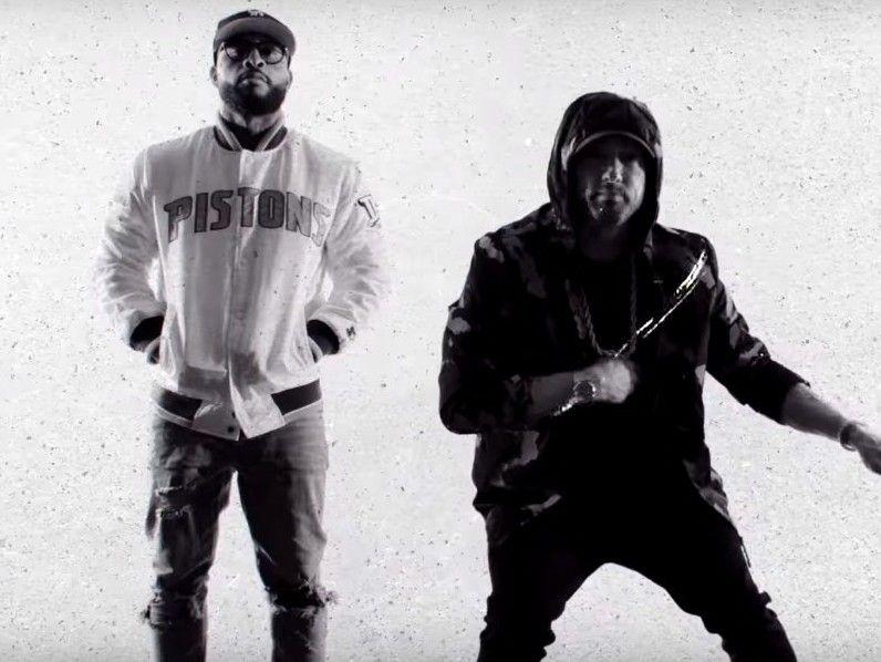 5 Beefs Eminem tatsächlich gequetscht