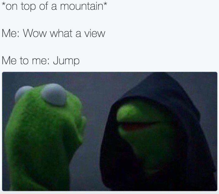 All Eyez On Memes: Good Kermit Vs. Evil Kermit représente les batailles internes en nous tous