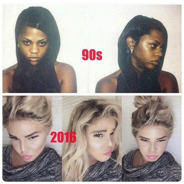 All Eyez On Memes: Was ist mit Lil Kims Gesicht passiert?