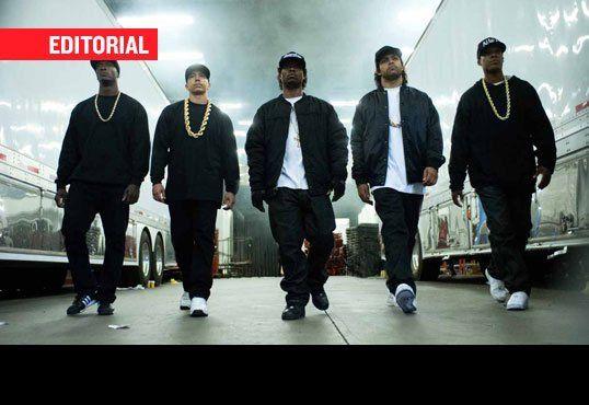 Fem betydningsfulle ting 'Straight Outta Compton' omslag og utelatelser