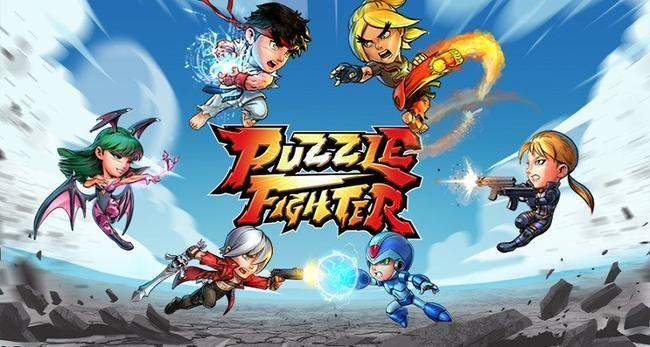 Puzzle Fighter er endelig ude til din telefon