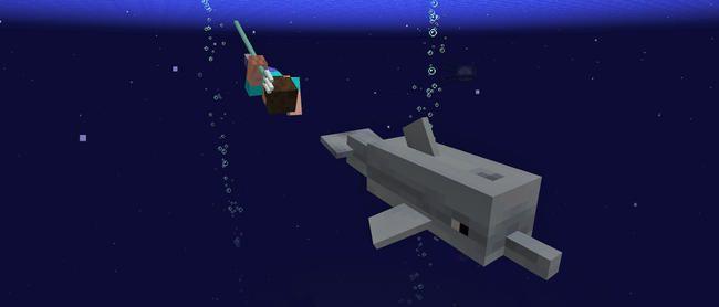 Minecrafts nye undervandsopdatering er for sød at håndtere