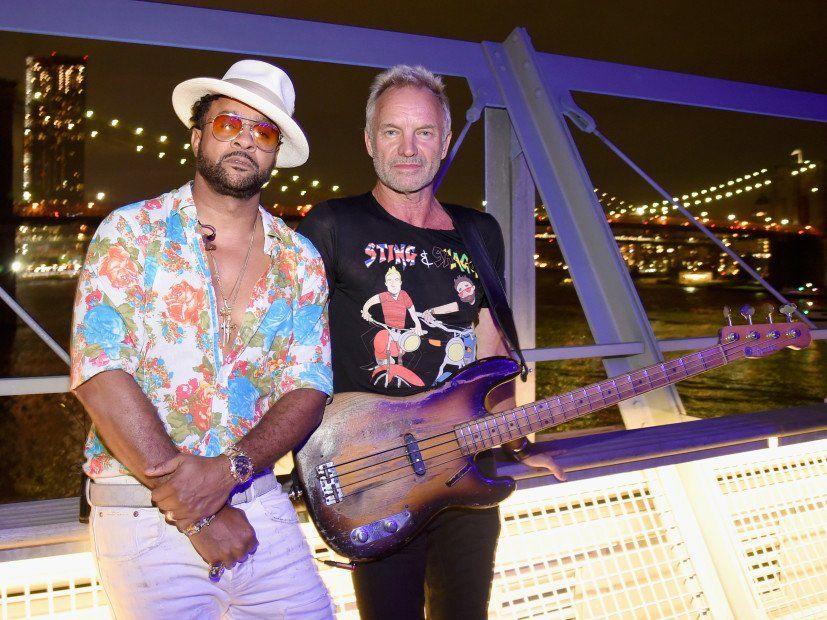 """""""Sting & Shaggy"""" mažai tikėtina draugystė sukėlė įsimintiną muziką """"44/876"""""""