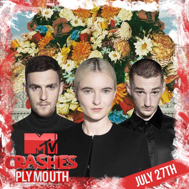 Clean Bandit & Jax Jones fullfører vår 2017 MTV Crashes Plymouth Line Up!