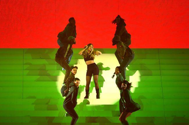 2017 MTV EMA: Rita Ora Slays EMA Medley in Style