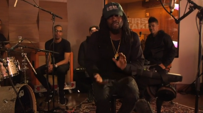Wale remixt ESPNs 'First Take' -Thema mit 'Every Word Great