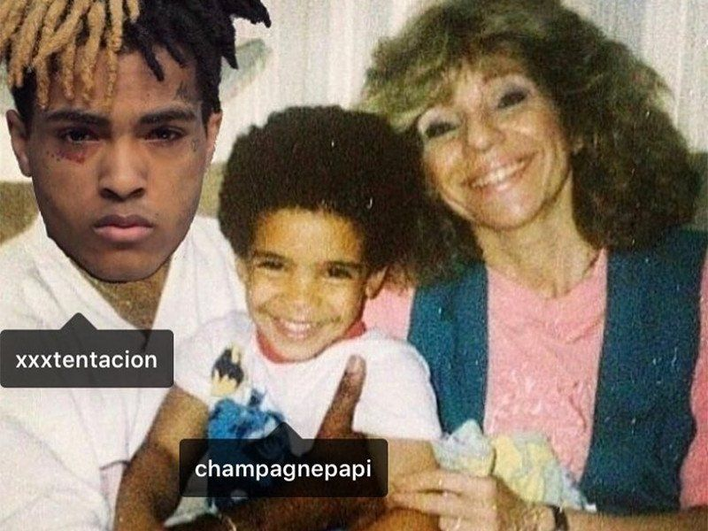 XXXTENTACION positioniert sich als Drakes Stiefvater (obwohl er nur nach Ruhm trollt)