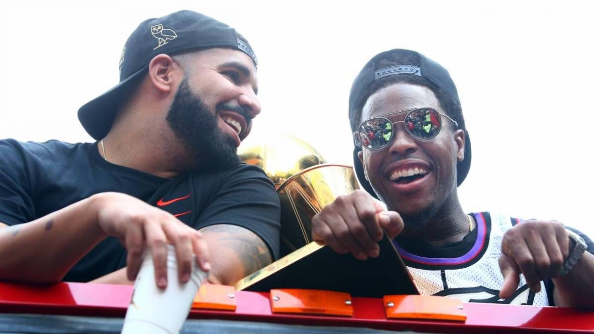 Drake stürzt die Postgame-Pressekonferenz von Toronto Raptors Star Kyle Lowry als 'sein Übersetzer' ab