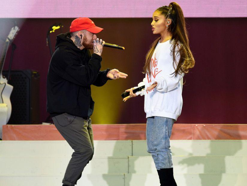 Ariana Grande angiveligt 'ødelagt' over Mac Millers død
