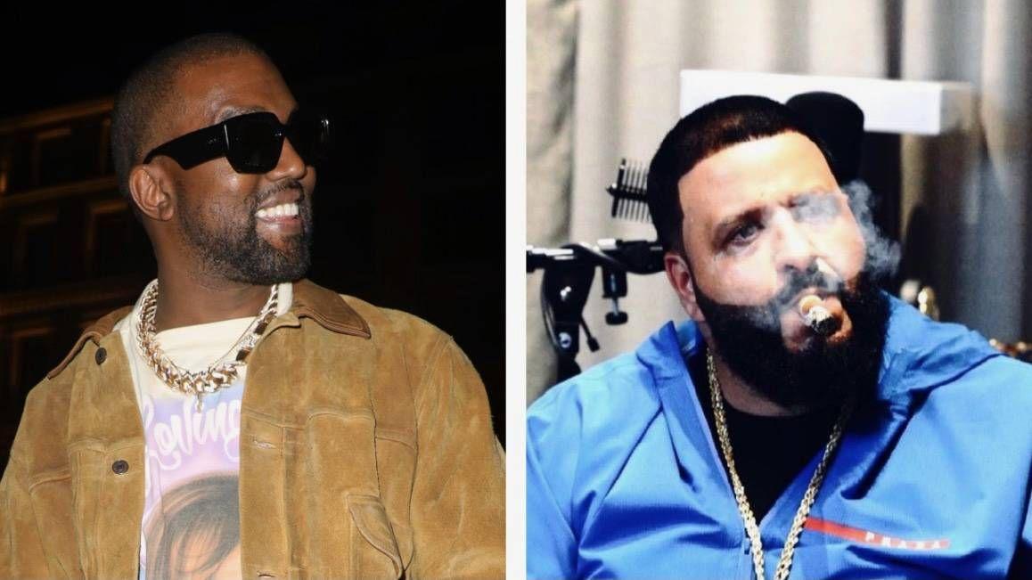 DJ Khaled et Kanye West en avant-première de la nouvelle musique en mangeant des œufs et du ketchup