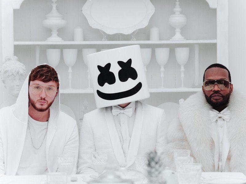 Marshmello, Juicy J & James Arthur Link til uberørt 'You Can Cry' -video
