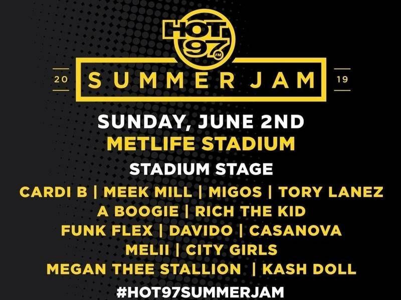 Stream Hot 97's 2019 Summer Jam