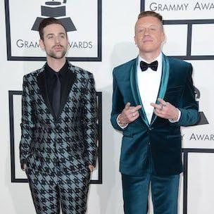 Macklemore sagt, er habe Kendrick Lamar bei Grammys in Textnachrichten 'ausgeraubt