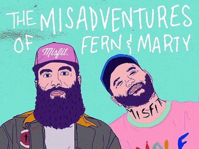 Социал Цлуб Мисфитс привлаче фанове за 'Мисадвентурес оф Ферн & Марти' са новим албумом