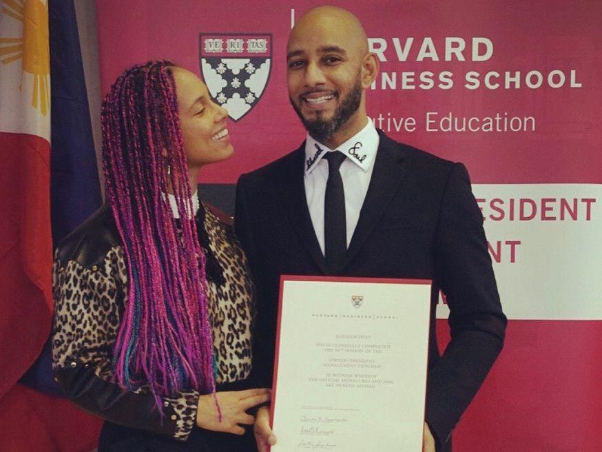 Swizz Beatz kandidater fra Harvard Business School